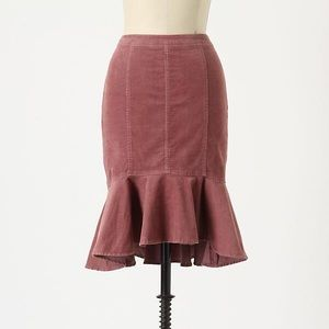 Anthropologie Pilcro Genie Corduroy Pencil Skirt 4
